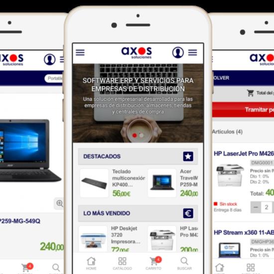 App de ecommerce personalizada