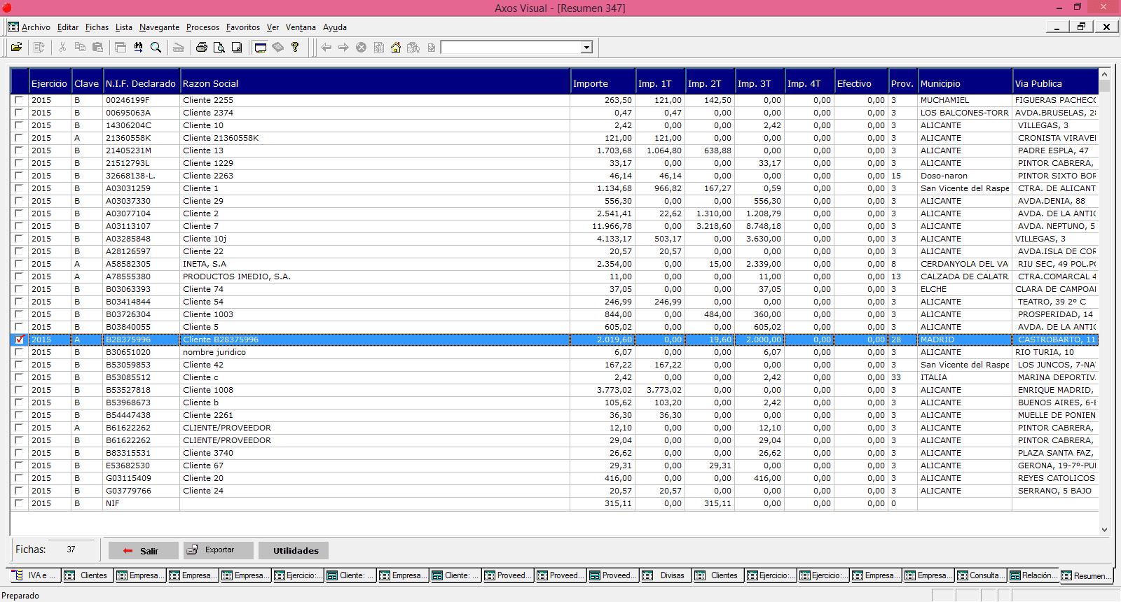 Modelos Anuales En El Software De Gestión Mcontabilidad
